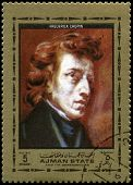 Frederic Chopin (composer) Used Postage Stamp
