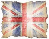 Uk Weathered Flag