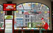 A Funny Day at the Internet Cafe (Wintertime)
