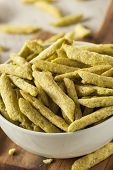 Healthy Organic Snap Pea Chips