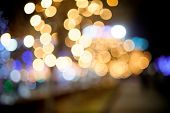 art background made from a bokeh photography