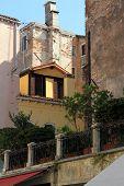 Street fragment. Venice