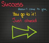 Sucess Does Not Come To You