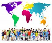 pic of environmental conservation  - Global Globalization World Map Environmental Conservation Concept - JPG