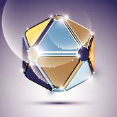 pic of twinkle  - Abstract 3D twinkle festive sphere with sparkles - JPG
