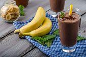 stock photo of banana  - Chocolate - JPG