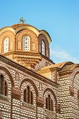 pic of pews  - Christian church in small city in Halkidiki - JPG