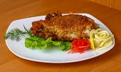 foto of squid  - Stuffed squid with seafood  - JPG
