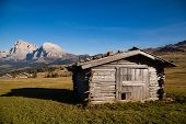 picture of south tyrol  - Seiser Alm and Rosengarten in South Tyrol - JPG