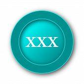 stock photo of pornography  - xxx icon - JPG