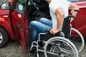 foto of wheelchair  - Close - JPG