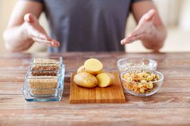 picture of carbohydrate  - healthy eating - JPG