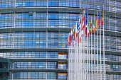El Parlamento Europeo del Consejo en Estrasburgo, Francia