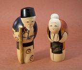 Japanese Wood Dolls