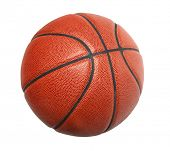 Basketball isolated over white background