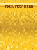 fundo abstrato laranja pixel