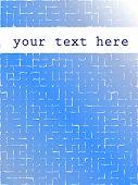fundo abstrato pixel azul