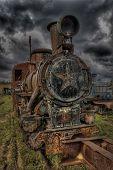 Rust locomotive (HDRi)