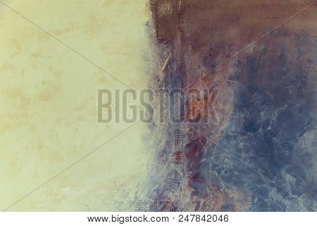 poster of Creative Abstract Painted Background, Marble Texture, Wallpape, Texture, Acrylic Paint On The Wall.