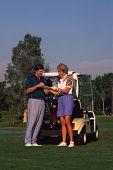 Couple Golfing 4