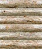 seamless old wooden logs
