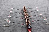 Massachusetts Institute Technology (MIT)races in the Head of Charles Regatta