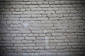 White Brick Wall Of A Building As Firewall poster