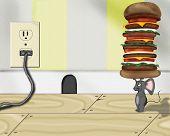 Mouse Burger