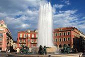 France, Nice: Place Massena