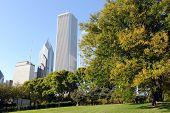 Rascacielos de Chicago downtown