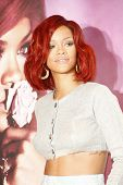 LAKEWOOD, CA - FEB 16: Rihanna at Macy?s in Lakewood, California at the launch of her first fragranc