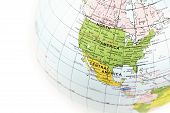 picture of united states map  - ball with map of USA  - JPG
