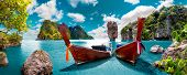 Scenery Thailand Sea And Island .adventures And Travel Concept.scenic Landscape.phuket Seascape poster