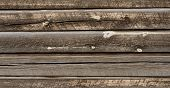 Brown Wood Timbers As Background Or Texture