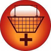 Button Hand Basket Plus.