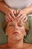 Massaging Head At Wellness Center