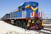 Shunting Locomotives Jumped The Rails