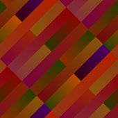 Geometrical Gradient Rectangle Pattern Background Design - Abstract Vector Illustration From Rectang poster