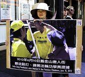 FALON GONG PROTESTOR