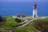 Kauai Light Tower Ocean Background