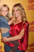 LOS ANGELES - JUL 12:  Taylor Armstrong and her daughter arrives at 'Dragons' presented by Ringling