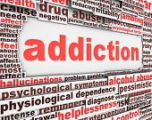 Addiction message design