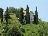 Italian Villa On Hill