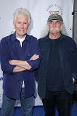 LOS ANGELES - APR 13:  Graham Nash, David Crosby arrives at the Light Up The Blues Concert Benefitti