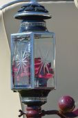 Red Horse Carriage Lamp