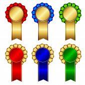 Award Ribbon Rosette
