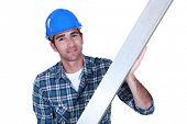 Craftsman metal ruler