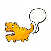 stock photo of fart  - farting cartoon cat - JPG