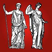 Antike Göttinnen