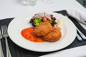 Fishcake With Sweet Chilli Sauce
